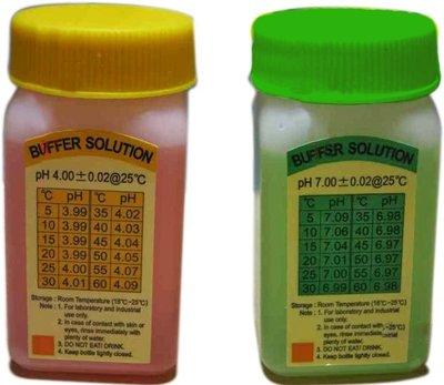 TECPEL泰菱》PH4.PH7 校正液,2種一起刊登,需要哪一款請留言告知,PH校正液  一瓶50CC