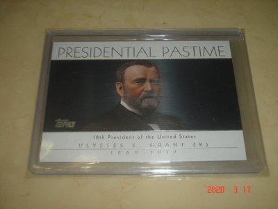 美國總統 Ulysses S. Grant 2004 ToppsPresident Pastime #PP18 球員卡