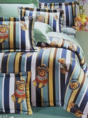 高級卡通精梳棉單人.雙人.加大.特大.鋪棉床罩.床包.兩用被.薄包.被單~.台灣製~特價