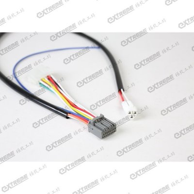[極致工坊] 三代勁戰 1MS 改 X-HOT XHOT 叉燒 液晶 儀表 儀錶 碼表  專用接頭 直上轉接線組