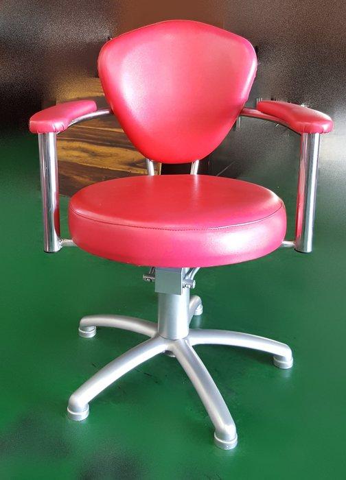 二手家具宏品 台中中古傢俱賣場 H111603*紅色美髮椅 護髮椅 理髮椅*2手美容美髮設備拍賣 燙髮機 護髮機 大吹