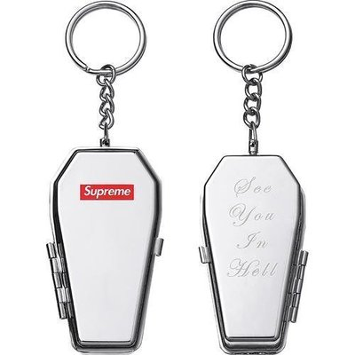 【日貨代購CITY】2017AW Supreme Coffin Keychain 棺材 鑰匙圈 現貨