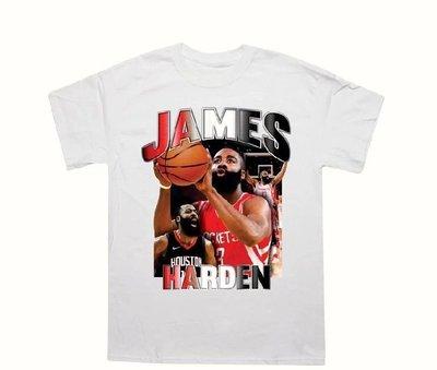 美國進口 JAMES HARDAN 短T NBA火箭隊 嘻哈 饒舌 HIP HOP RAP 尺寸:S~2XL