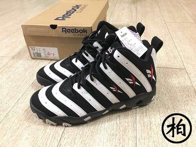 【柏】台灣公司貨 REEBOK BIG HURT 黑白 斑馬 重傷害 V55133 男鞋 US10.5