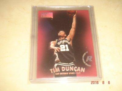 美國職籃 NBA Spurs Tim Duncan 1997-1998 Skybox #112 球員卡