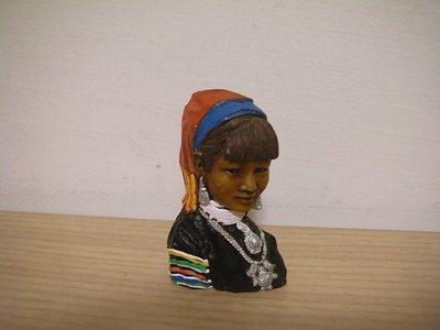 全新泰北神秘色彩 [ 長頸族 ] 神韻柔美女性傳統服飾配件造型立體浮凸吸磁磁鐵冰箱貼