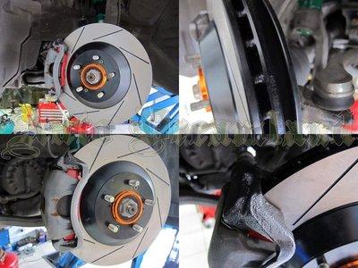 HHC BRAKES Mitsubishi Lancer Fortis 專用 單片 前加大碟盤  328mm