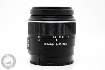 【高雄青蘋果3C】SONY DT 18-55MM F3.5-5.6 SAM A-MOUNT 二手鏡頭  #53906