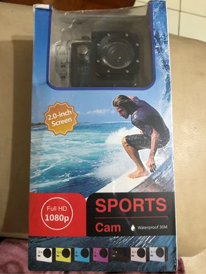 防水 運動型 記錄器 多功能 行車記錄器 全套配備1080P 無記憶卡