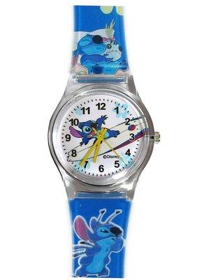 【卡漫迷】 史迪奇 手錶 衝浪版 藍 ㊣版 Stitch 星際寶貝 卡通錶 兒童錶 女錶 塑膠錶 2 6 0元