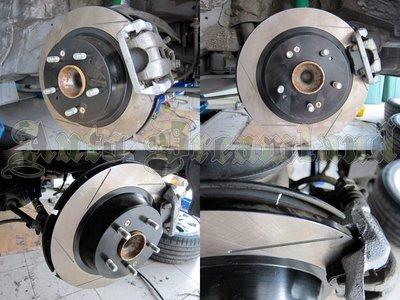HHC BRAKES Mitsubishi Lancer Fortis 專用 單片 後加大碟盤 325mm