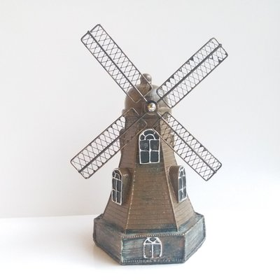 仿古荷蘭風車錢罌 / Retro Netherlands Windmill Piggy Bank