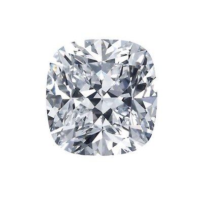GIA 0.63克拉 D VVS1 Cushion Cut Diamond (50分枕型切刻鑽石價格)