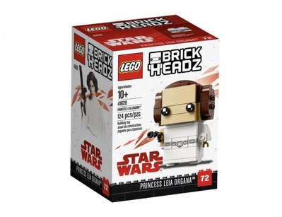 全新 LEGO 樂高 大頭仔 Star Wars 41628 Leia BrickHeadz 公主