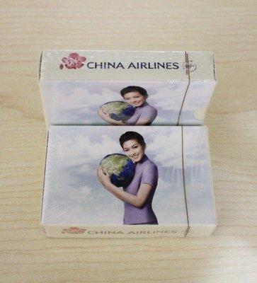 華航 中華航空 CHINA AIRLINES 紀念 撲克牌 普克牌 遊戲 過年 活動 聚會 空姐款 收集 收藏 未拆封