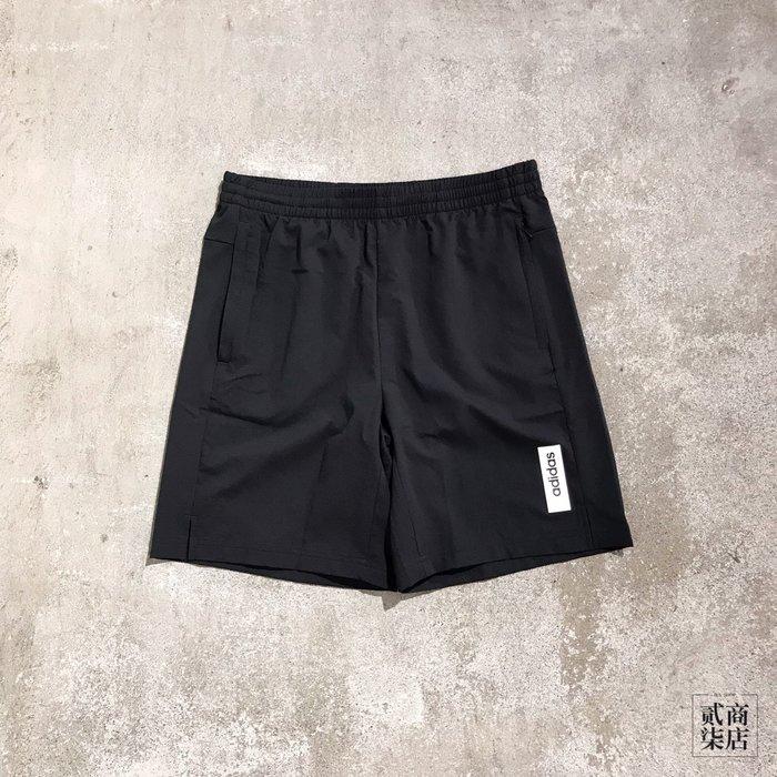 (貳柒商店) adidas Brilliant Basics Shorts 男款 黑色 短褲 運動褲 休閒 EI5610