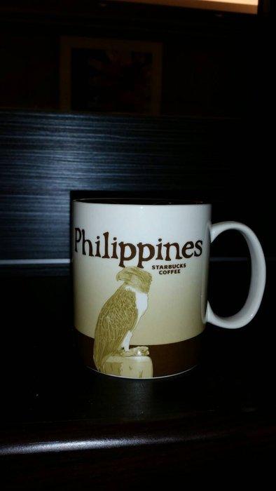 Starbucks 星巴克城市杯16oz 馬克杯菲律賓/Philippines 1200下標就賣