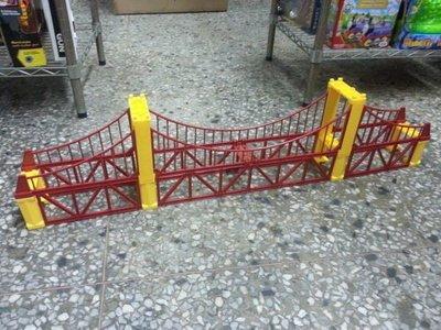 111玩具--火車配件---雙層橋--可在日本TOMYㄉ軌道一起玩----下標就是直購價