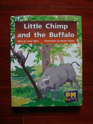 PM Gems ◎ Little Chimp and the Buffalo【Levels 12,13,14 Green / 一套十冊,恕不分售】