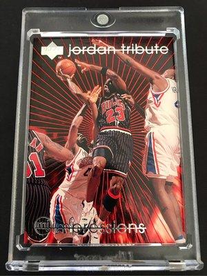 🐐1996-97 Upper Deck Jordan Tribute MJ Impressions #MJ53 Michael Jordan