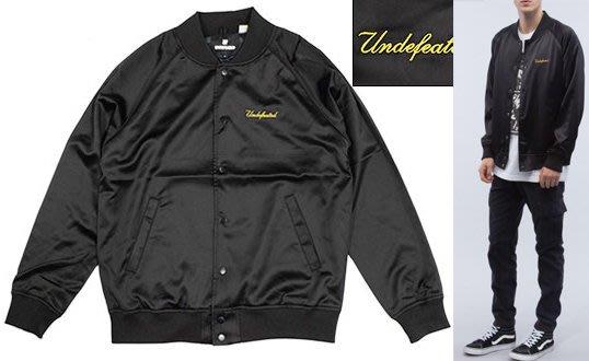 【超搶手】全新正品 2016 UNDEFEATED BULLPEN JACKET 刺繡 綢緞棒球外套 S M L XL