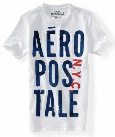 AERO_男裝_aero puff stacked graphic t 經典塗鴉圓領T恤 新品現貨S