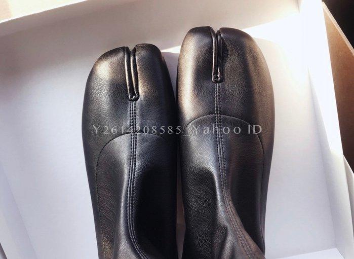 【代購】MAISON MARGIELA Tabi  皮革低跟靴