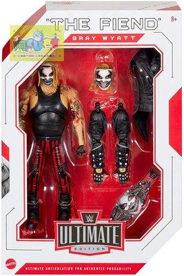 ☆阿Su倉庫☆WWE摔角 The Fiend Bray Wyatt Ultimate Elite 邪神終極精華版人偶公仔
