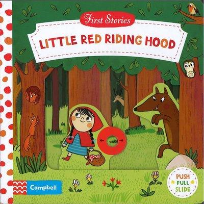 *小貝比的家*FIRST STORY:LITTLE RED RIDING HOOD/硬頁書/3~6歲