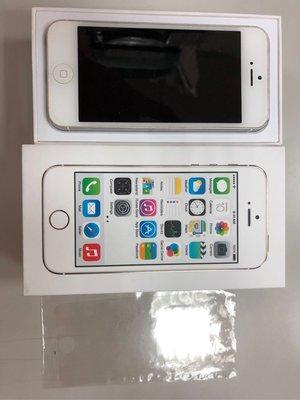 Apple iPhone 5 16G(A1429) 銀色 二手 中古 手機 功能正常 無故障 附盒、全新保護貼 目前iOS 10.0.2