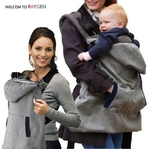 八號倉庫 冬天外出必備嬰兒絨面保暖背帶 披風斗篷【2F002Y405】