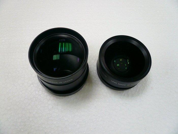 《晶準數位》Canon 原廠增距鏡.廣角鏡 TC-DC52A 1.75X + WC-DC52 0.7X