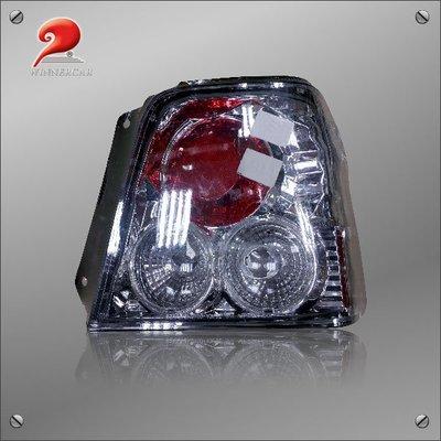 【驚爆市場價 我最便宜】SK3710 TCC92 TOYOTA TERCEL  紅白晶鑽右尾燈