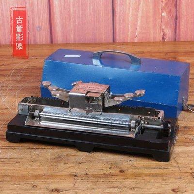 百寶軒 稀有精美古董機械盲文打字機盲打打字機功能完好帶原裝箱9品 ZG3071
