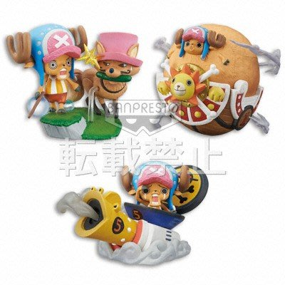 日本 景品 One Piece 海賊王 Desktop Theater Figure ~ CHOPPER'S ADVENTURE ~ 新世界編  (保證日版)