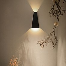 簡約時尚鐵藝LED壁燈 書房走廊客廳臥室床頭燈創意壁燈樓梯過道燈酒店造型燈 by 我型我色