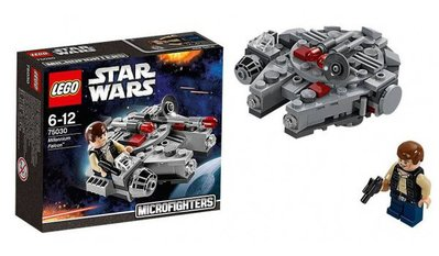 全新未開 Lego 75030 Star Wars Millennium Falcon 星球大戰 千歲鷹