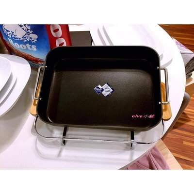 全新 Introducing Universal Expert UE方形鐵烤盤/Roots 專櫃正貨含盒完整中文標