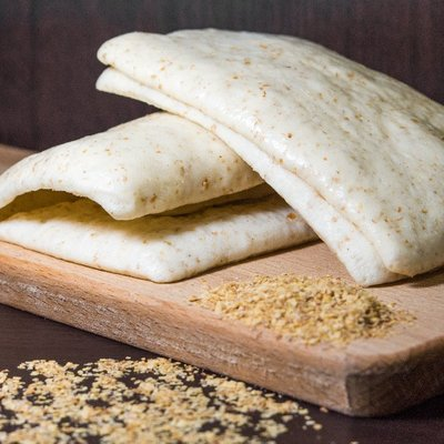 ◎亨源生機◎胚芽四方夾餅 胚芽 夾餅 早餐 點心 饅頭 無添加 營養 天然 全素可用 需冷凍