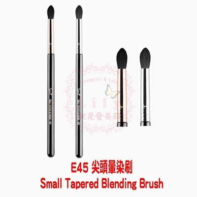 【美國現貨】SIGMA E45 Small Tapered Blending Brush 尖頭暈染刷 (銀環)、(銅環)