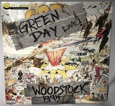 年輕歲月合唱團 Green Day Woodstock 1994 RSD LP黑膠唱片 2019 (包郵)