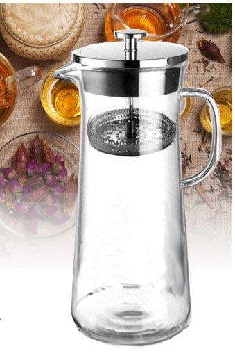 晴天咖啡☼ 900ml巧易壺 冷泡式冰釀咖啡壺 冷淬壺 耐熱玻璃咖啡沖泡壺 冷水壺 泡茶壺  茶飲 水果茶 冷萃壺