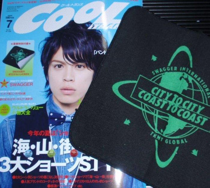 日本潮流雜誌附錄COOL SWAGGER手帕 小方巾