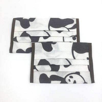【 RGT 】全新   手作市集   口罩套   日本捺染布(棉紗布)   大熊貓 (現貨&預訂款)