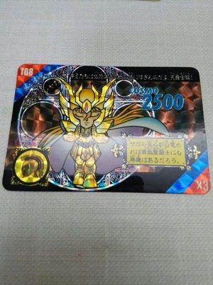 Q版聖鬥士星矢Act 3 處女座沙加閃卡 1992年 日版