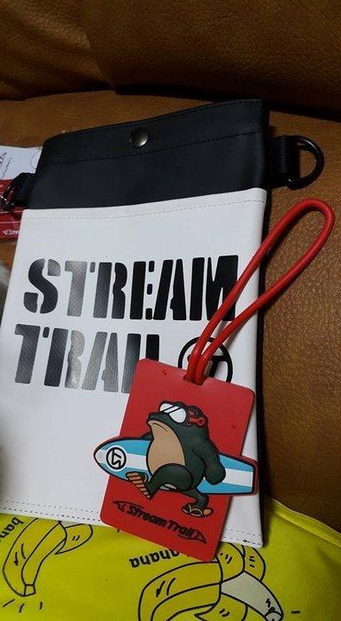 日本StreamTrail戶外防水包~Sucker mini 輕巧兩用包-可以肩背或腰包-逛街上班行方便隨身小包-浪花白