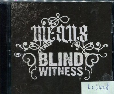 *真音樂* MEANS / BLIND WITNESS 二手 K26428