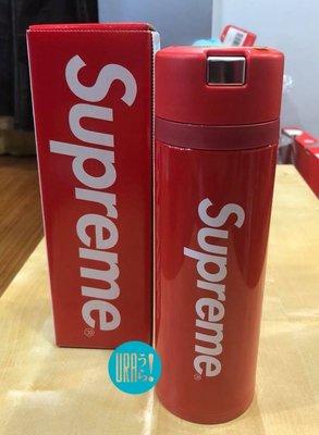 【URA 現貨】Supreme X Zojirushi Tuff Mug 日本 象印 保溫瓶 水壺 紅色 全新