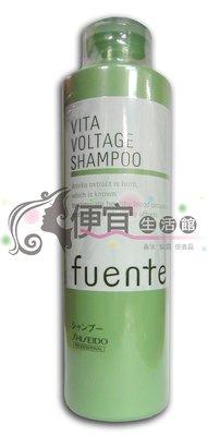 便宜生活館【洗髮精】SHISEIDO 資生堂-芳緹植物精華系列-喚髮潔淨乳300ml-白髮、頭髮稀疏頭皮用 台中市