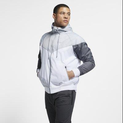 GOSPEL【NIKE NSW HE WINDRUNNER HD】 風衣外套 拼接 男款 AR2192-100
